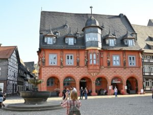 Goslar, Marktplatz Hotel Kaiserworth