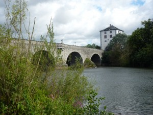 Steinerne Brücke über die Lahn