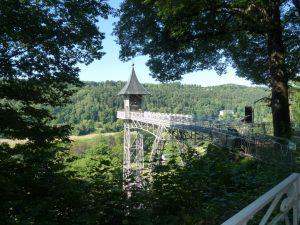 Historischer Personenaufzug in Bad Schandau