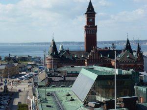 Helsingborg mit Blick auf den Öresund, Foto: Klemens Grätz