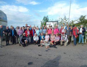 Kölner Wandergruppe in Südschweden, Foto: Klemens Grätz