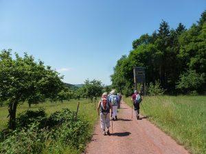 Wanderung von Wochern nach Perl, Foto Klemens Grätz