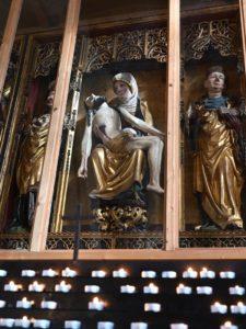 Spätgotischer Flügelaltar, um 1500