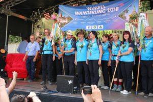 Wimpelwandergruppe aus Eisenach