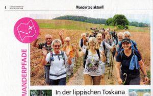 Wanderung zum Blomenstein