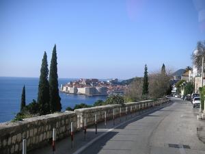 Blick auf Dubrovnik, Foto Willi Schiefer
