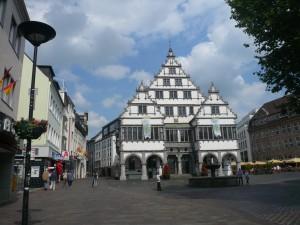 Rathaus von Paderborn/ Foto: Margit Schneider